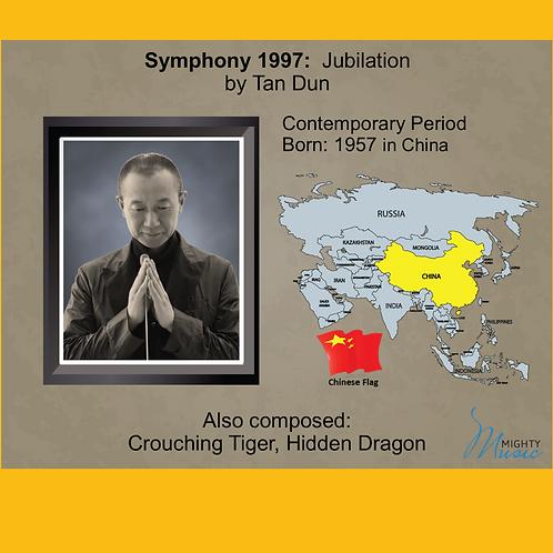 Module 12 for Orchestra - Tan Dun: Symphony 1997: Jubilation