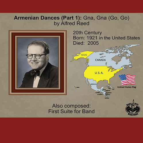 Module 7 for Band - A. Reed: Armenian Dances (Part 1): Gna, Gna (Go, Go)