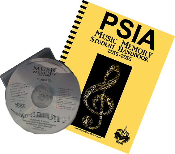 2015-2016 PSIA Student Handbook with CD