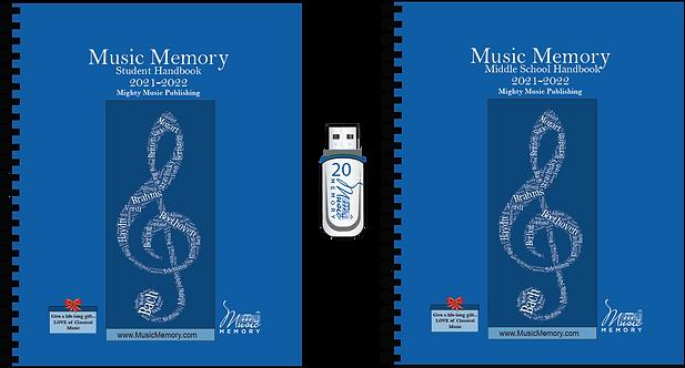 MS and Elem Student Handbooks + Audio Flashdrives (22)