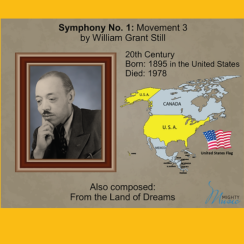 Module 11 for Orchestra - Still: Symphony No. 1: Movement 3