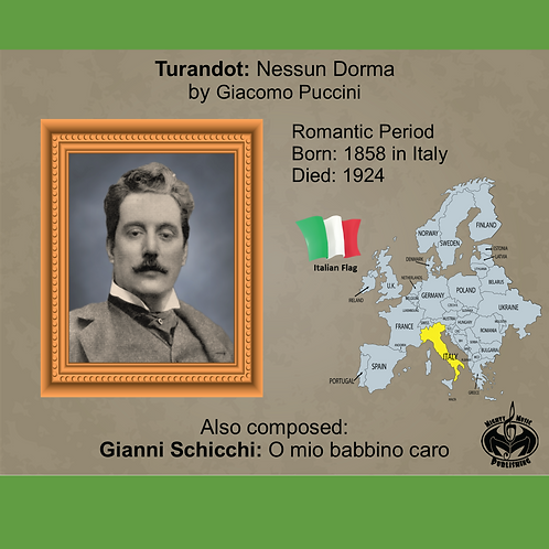 Module 8 for Choir - Puccini: Turandot: Nessun Dorma