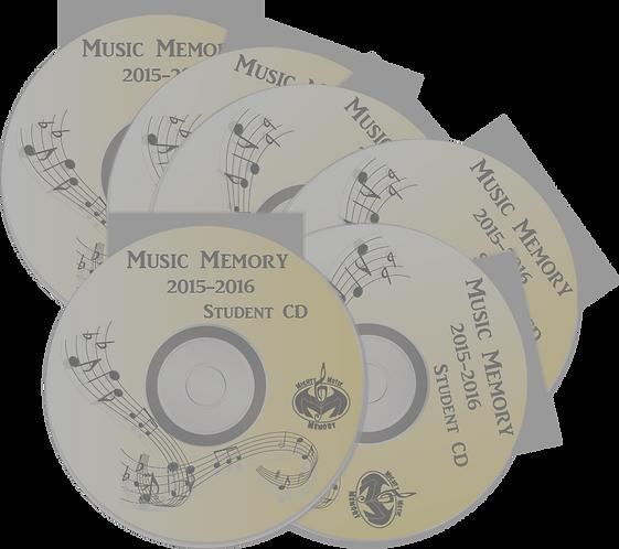 2015-2016 Student Practice CD (6 CDs)