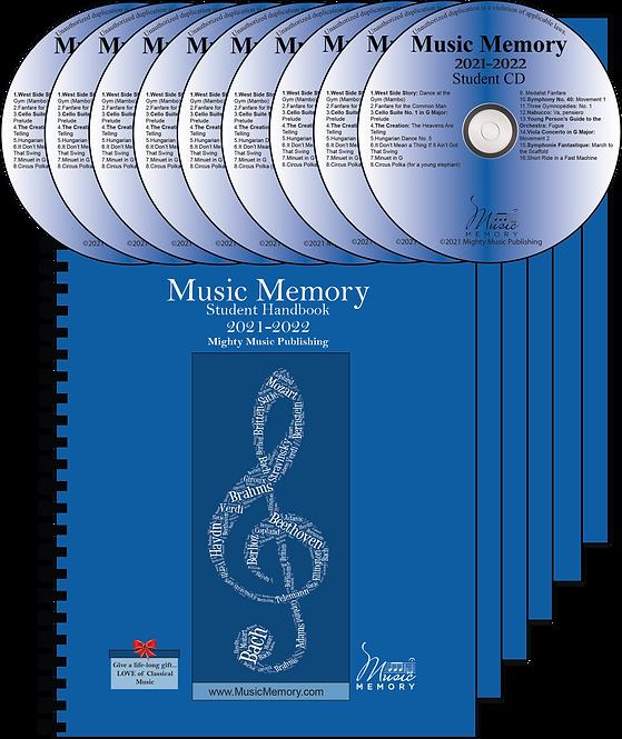 Set of 6 Student Handbooks with CDs (22)