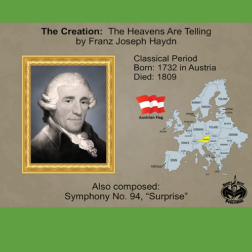 Module 3 for Choir - Haydn: The Creation: The Heaven Are Telling