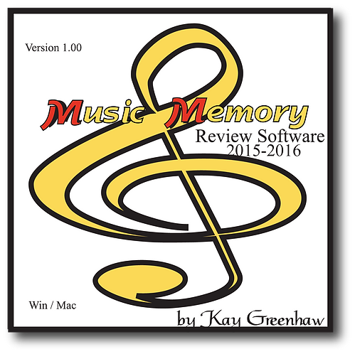 2015-2016 Review Software, by Kay Greenhaw