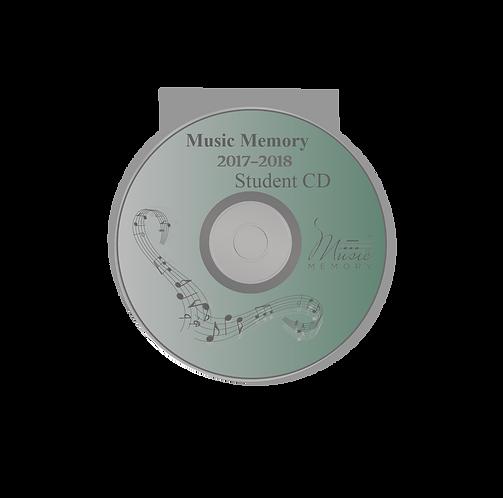 2017-2018 Student Practice CD (1 CD)