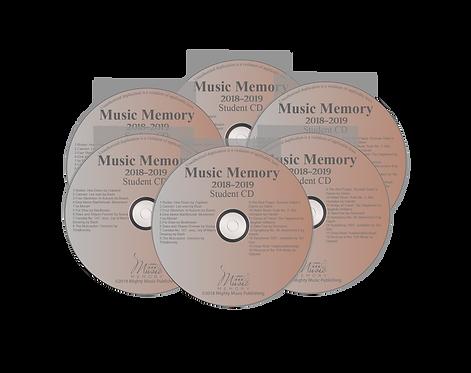 Set of 6 Student Practice CDs
