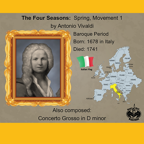 Module 1 for Orchestra - Vivaldi: The Four Seasons: Spring, Movement 1