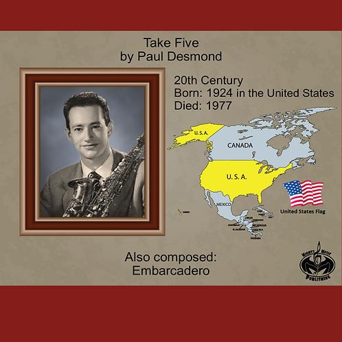 Module 3 for Band - Desmond: Take Five