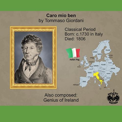 Module 5 for Choir - T. Giordani: Caro mio ben