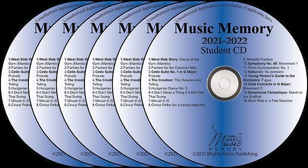 Set of 6 Student Practice CDs (22)