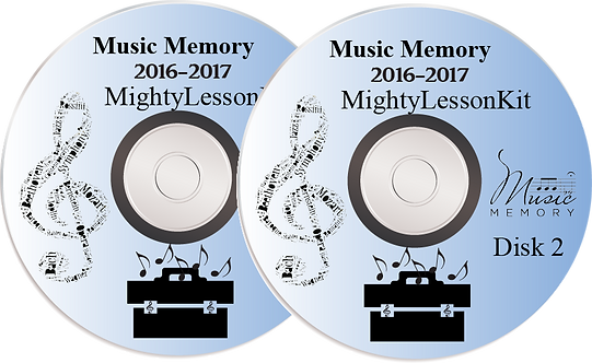 2016-2017 MightyLesson Kit DVDs