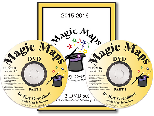 2015-2016 MagicMapsDVDs, by Kay Greenhaw