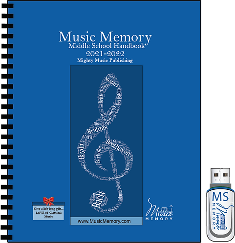 MS Student Handbook with Audio Flashdrive of 4 selections (22)
