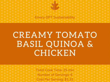 FIT Meals - Creamy Tomato Basil Quinoa and Chicken