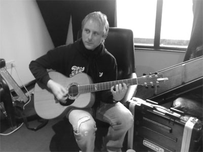 Mark recording acoustic session