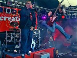 Mark Hamilton - Rock jump!