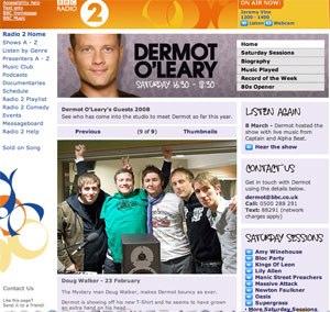 Dermot O'Leary's Radio 2 show