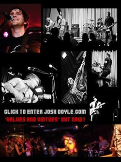 UK Tour Poster - Josh Doyle