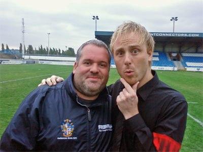Mark Hamilton and Chris Moyles