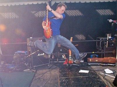 Mark Hamilton - jump 2002