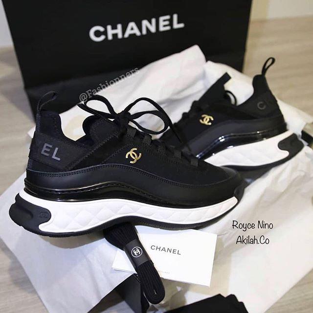 Chanel CC Velvet Calfskin Mixed Fibers