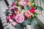 Beautiful pink Bride's Bouquet