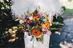 Stunning bright spring Bride's Bouquet