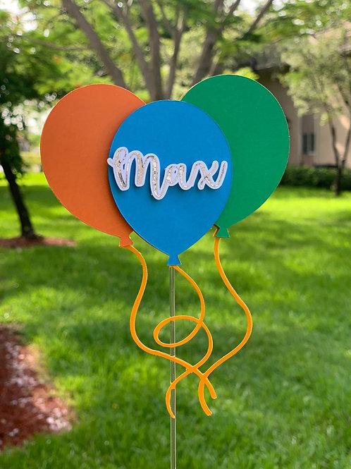 Ballons - Cake Topper
