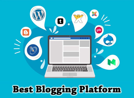 Top 5 Blogging Platforms You Can Start Blogging With Right Now