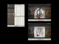 webOS music player
