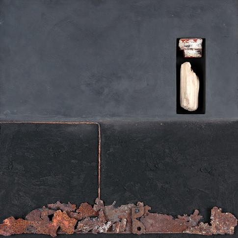 Espacio con fragmentos no identificados 1