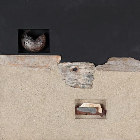 Espacios con fragmentos no identificados 2