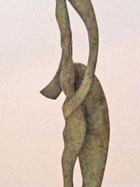 Bailarina exhibicionista