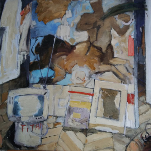 Estudio del pintor