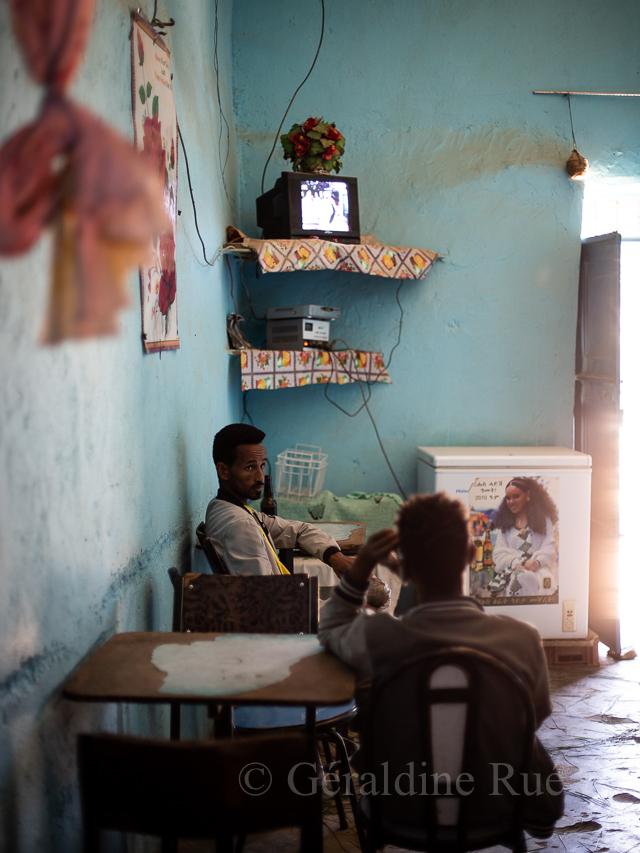 Dans un café Ethiopie © GéraldineRué