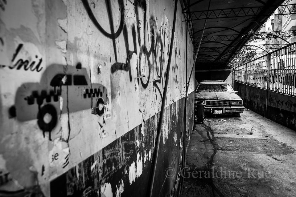 Parking à Beyrouth © Géraldine Rué