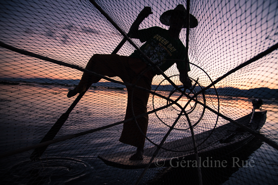 Pêcheur du lac Inlé © Géraldine Rué