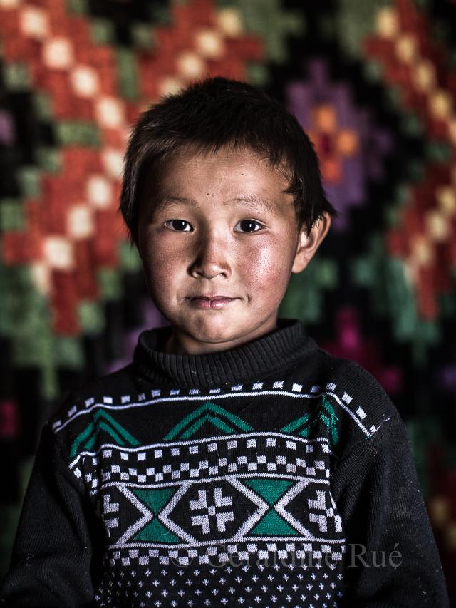 Jeune nomade kirghiz © Géraldine Rué