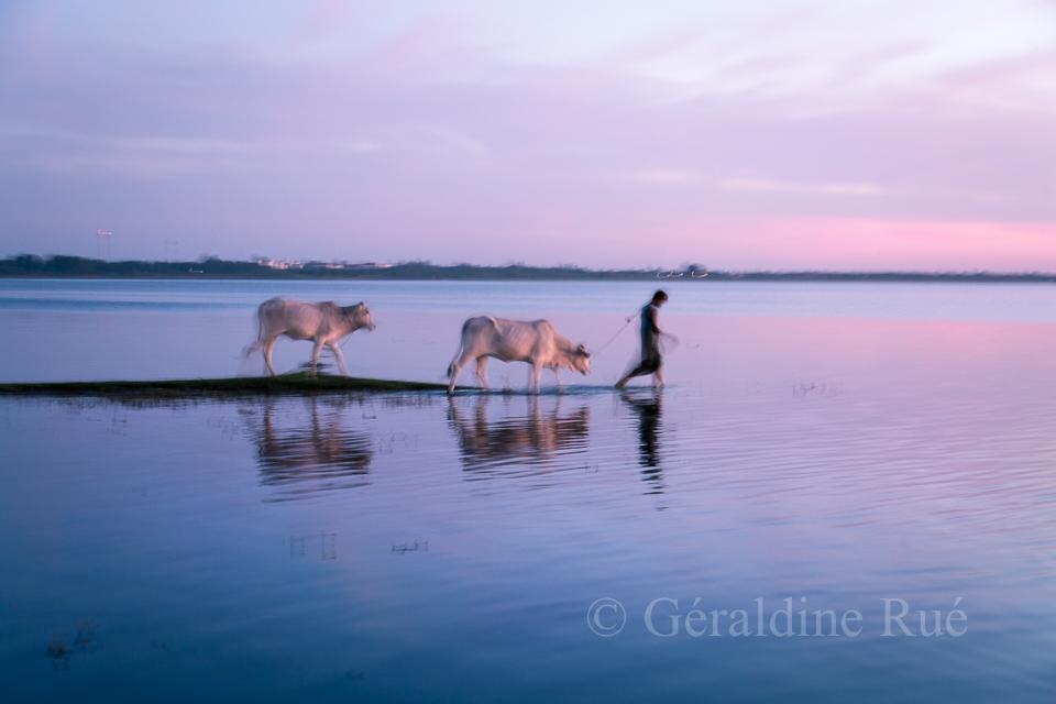 Paysan, Birmanie © Géraldine Rué