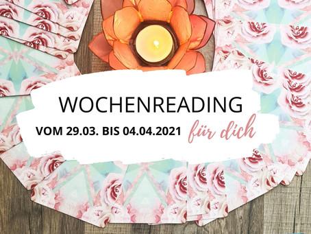 Wochenreading vom 29. März bis 4. April 2021