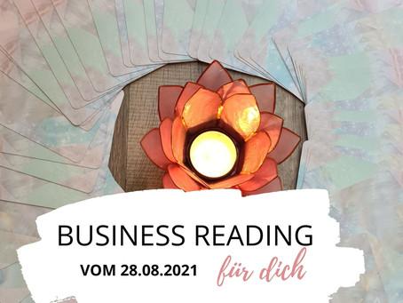 Business Reading vom 26.08.2021
