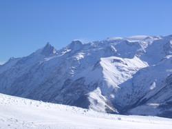 La Meije vue depuis le Pic Blanc