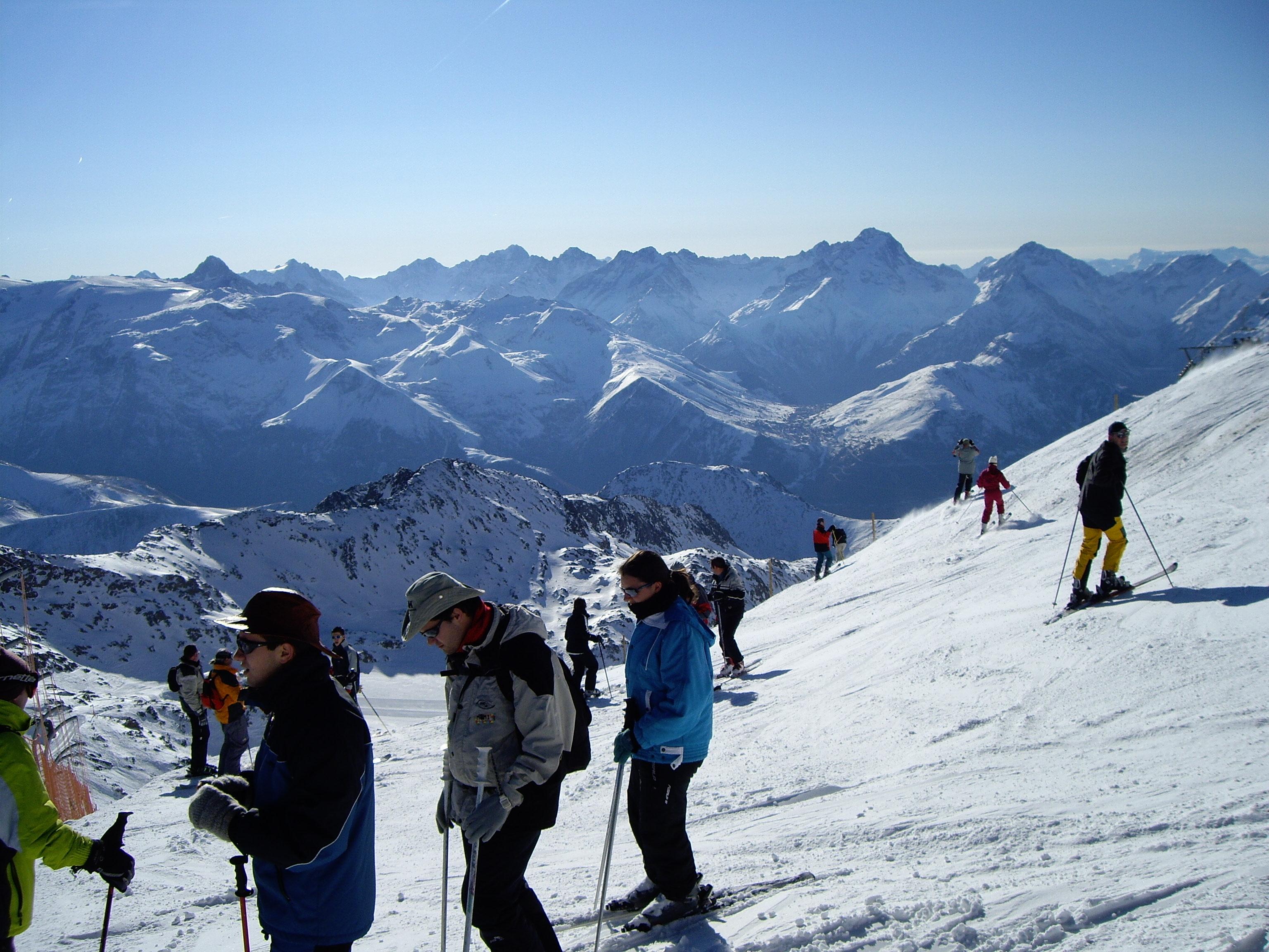 Ski Oz à 3000 sur Sarenne