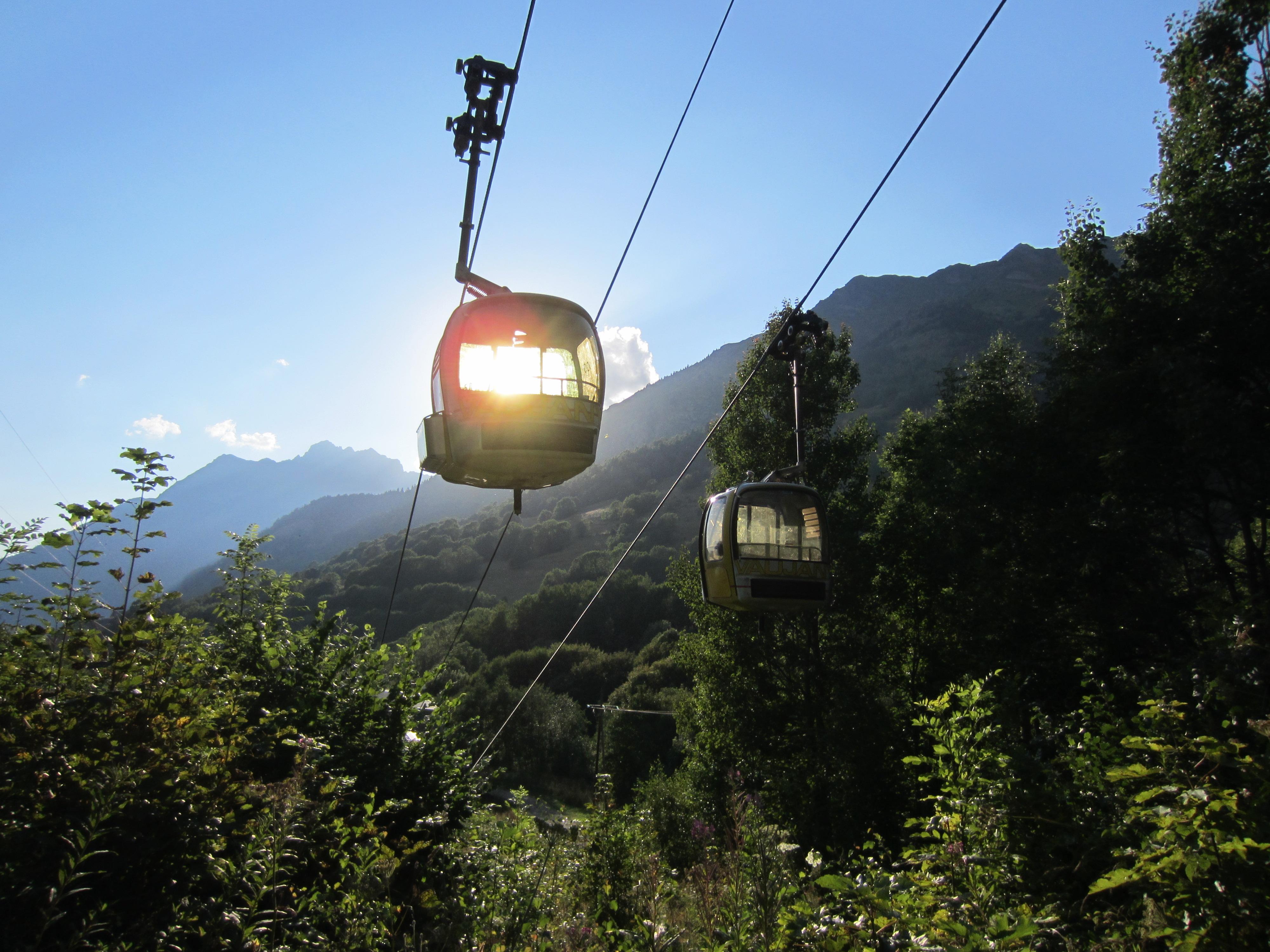 Télécabine de Montfrais