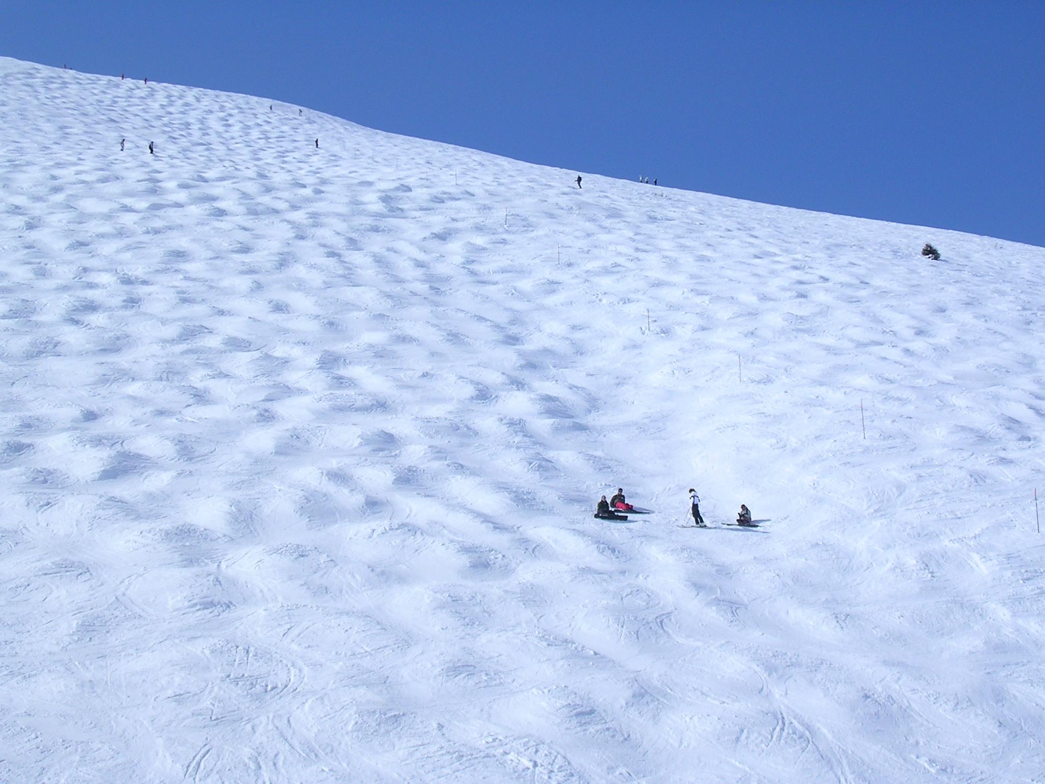 Col de Cluy piste noire Auris