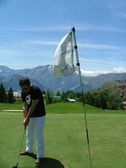 Golf à l'Alpe d'Huez