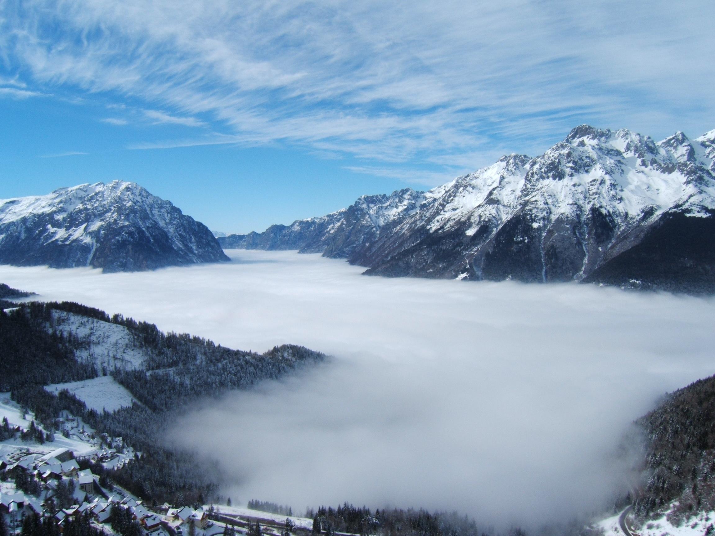 Mer de nuage