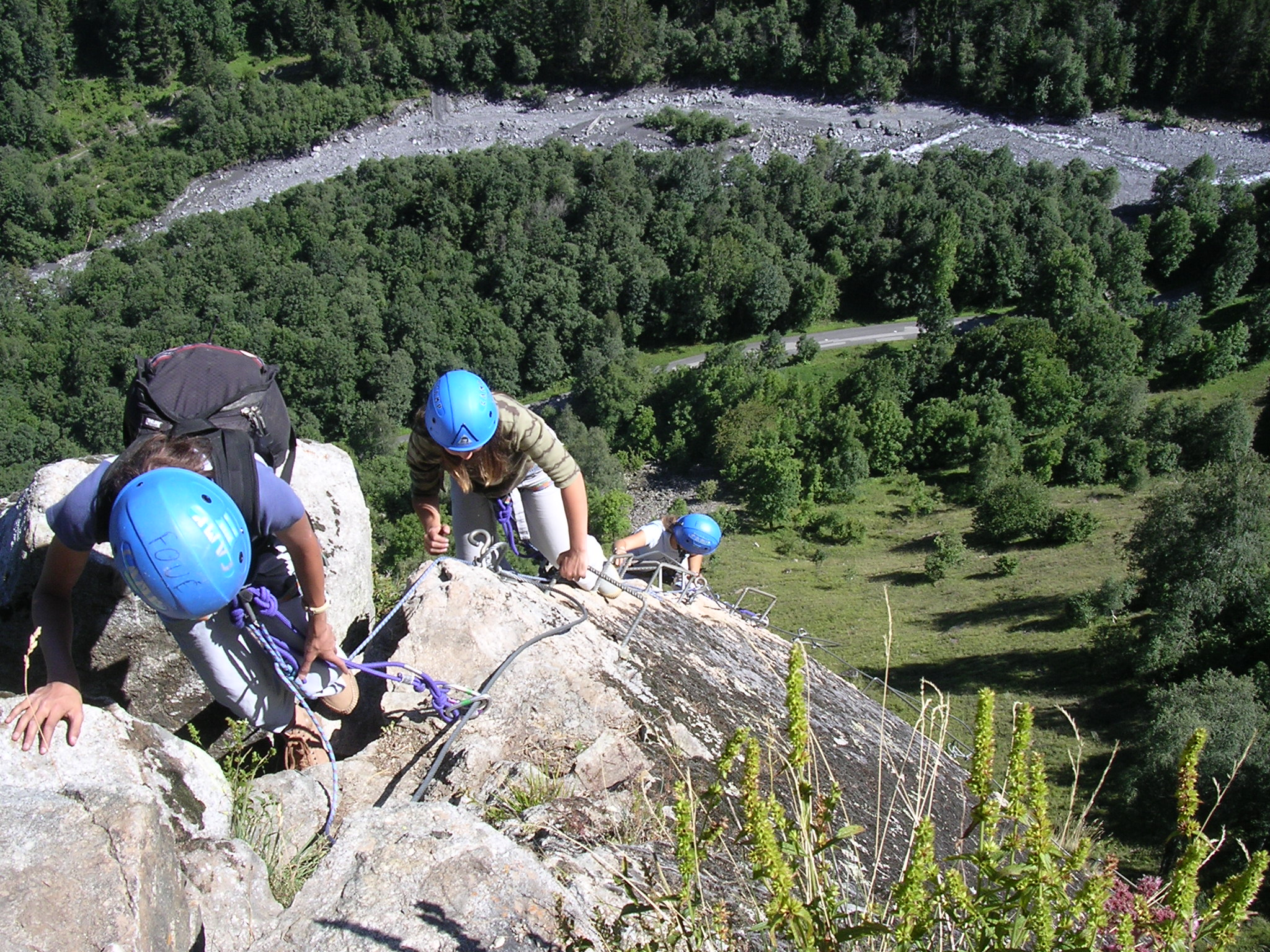 Via Ferrata de Saint Colomban
